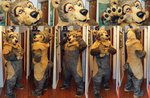 Pho the Grizzly by ScardyKat