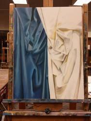 fabric folds by K-Gforever