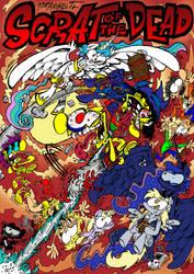 Scrat of the Dead -Poster- by ANDREU-T