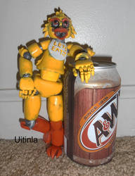 Finished poseable Chica doll scale by Uitinla