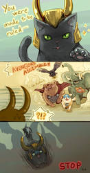 Animal Avengers by Mushstone