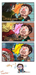 Everybody likes grabing Tony Stark by Mushstone