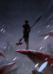 FinalFantasy XIV : Dragoon by Mushstone