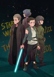 Star Wars: Episode VIII - The Last Jedi by Mushstone