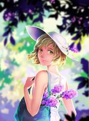 Lilac by Mushstone