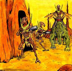 Geonosian Guards by Reedius