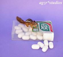 1:12 scale Eastern Chipmunk handmade Ooak by AGZR-STUDIOS