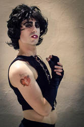 Frank-N-Furter - The Rocky Horror Picture Show by stregatt0