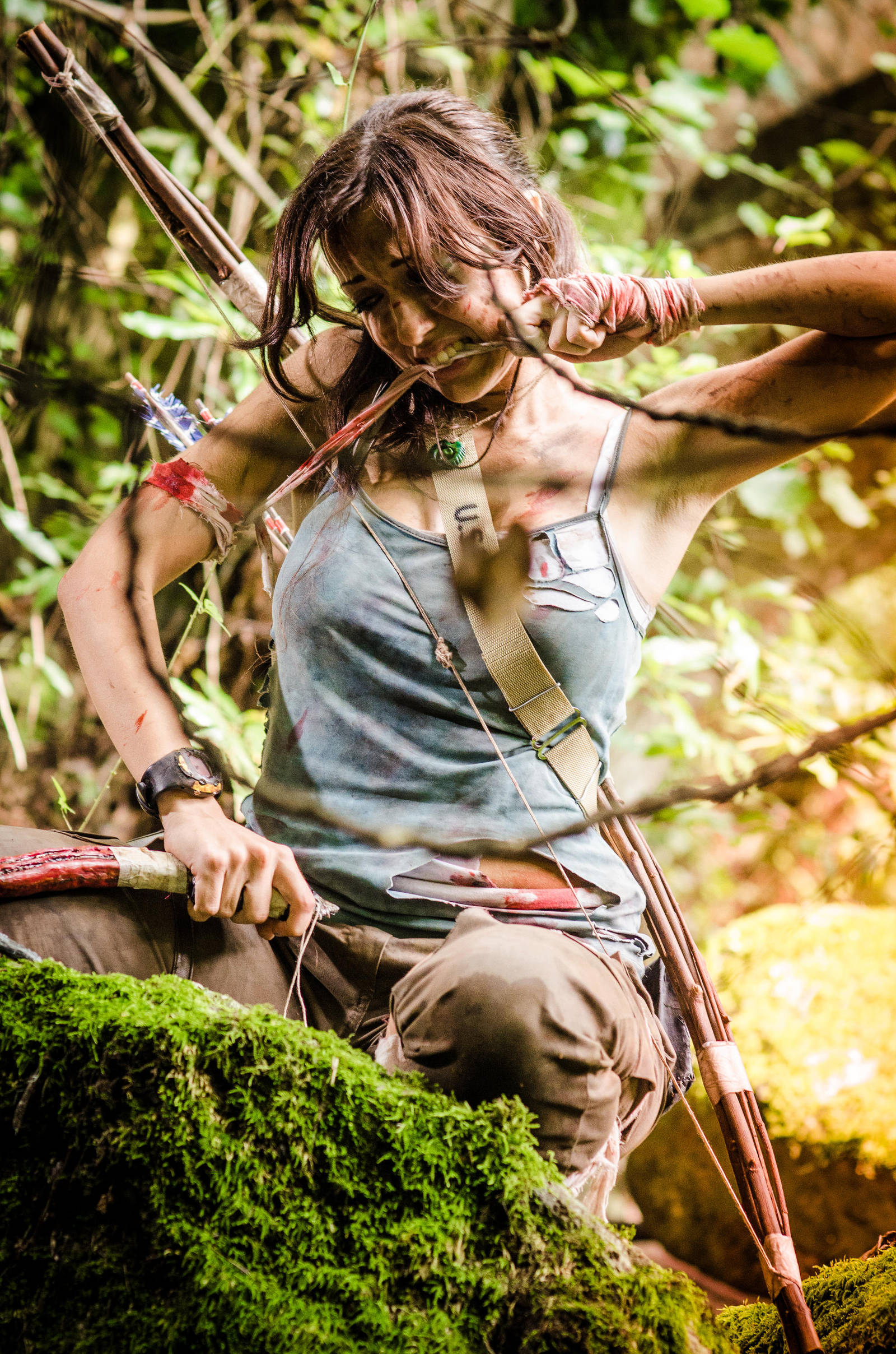 Lara Croft by stregatt0