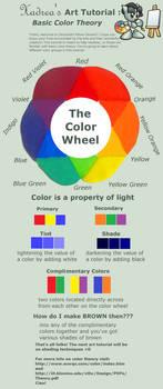 Art Tutorial: Color Theory by Xadrea