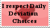 I Respect DD's Stamp by Xadrea