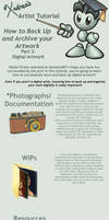 How to Backup Digital Artwork by Xadrea