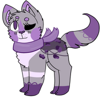 Purple Lacecat Auction OPEN by cactus-child