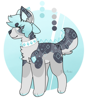 Diamond Dog 1 Point Auction closed!! by cactus-child