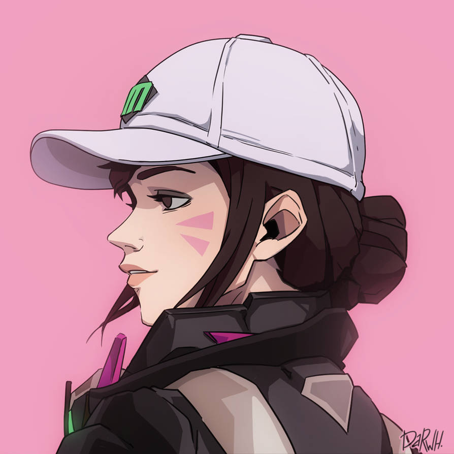 D.Va [Overwatch] by darwh