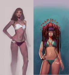 13: Bikinis by chacuri