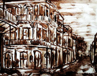 Burnt umber sketch series by amoxes