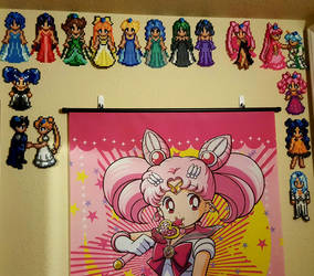 Sailor Moon Collection Perlers by Kousagi-Tsukino