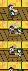 Kyouko's Hearing by TouhouCommoner