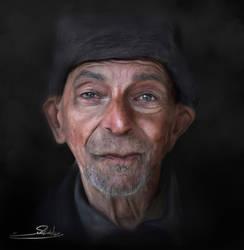 Old Man Digital by mostafagom3a