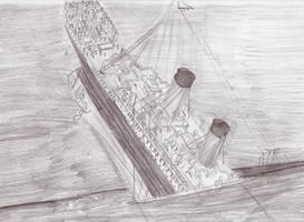 Titanic Sinking by Genbe89