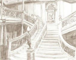 Titanic Grand Staircase by Genbe89