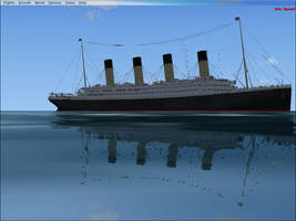 RMS Titanic in FSX by Genbe89