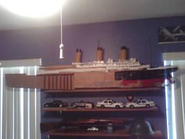 Cardboard titanic by Genbe89