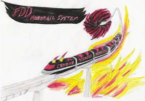 FDD Monorail by Genbe89