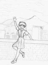 Asuka in rare form by HidonRedux