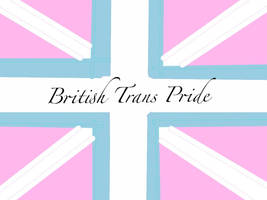 Union Jack trans pride flag by CallMeHe