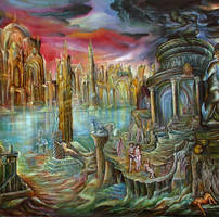 the birth of atlantis-detail by ErolDenec
