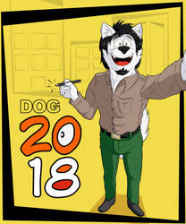 2018 Dog by dogarts-tg