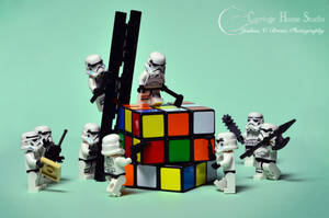 Lego Stormtroopers - Breaking In by Jbressi