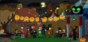 Happy Hall-ED-ween by funnypopgirl