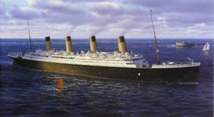 Titanic Painting by Kipfox32