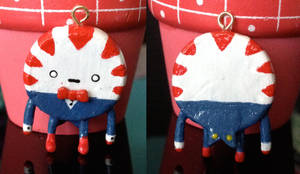 Adventure Time - Peppermint Butler Charm by lPandaBearl