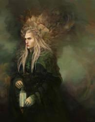 King of the Woodland Realm by saramondo