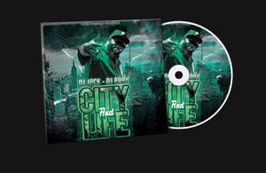 Hip Hop CD Cover Template by KlarensM
