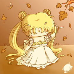 Fall Usagi by Kitanya