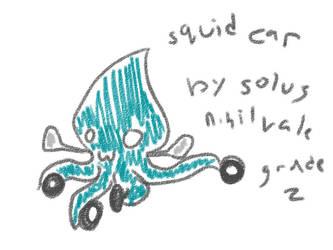 SQUID CAR by S0LUS