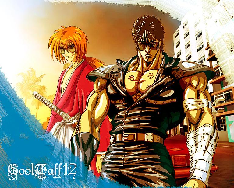 Kenshiro And Kenshin Wallpaper By CoolTaff12 On DeviantArt