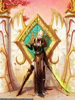 female bloodelf by Shaklana