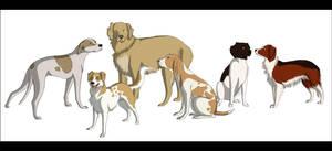 Dogs by Kumkrum