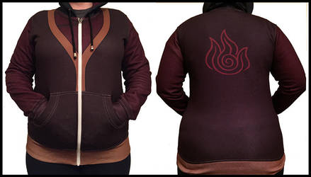 Zuko Actual Hoodie by DrippingSin