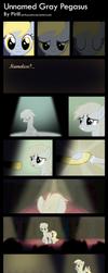 Unnamed Gray Pegasus by Pirill-Poveniy