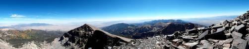 Wheeler Peak Panorama 2 (from the summit) by TaterBiscit