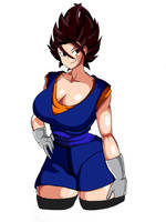 Female Vegito Colored by DrPolio