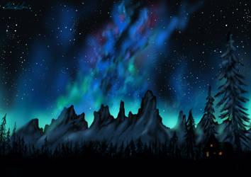 Milky Way by grumkinz