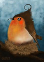 Robin by grumkinz